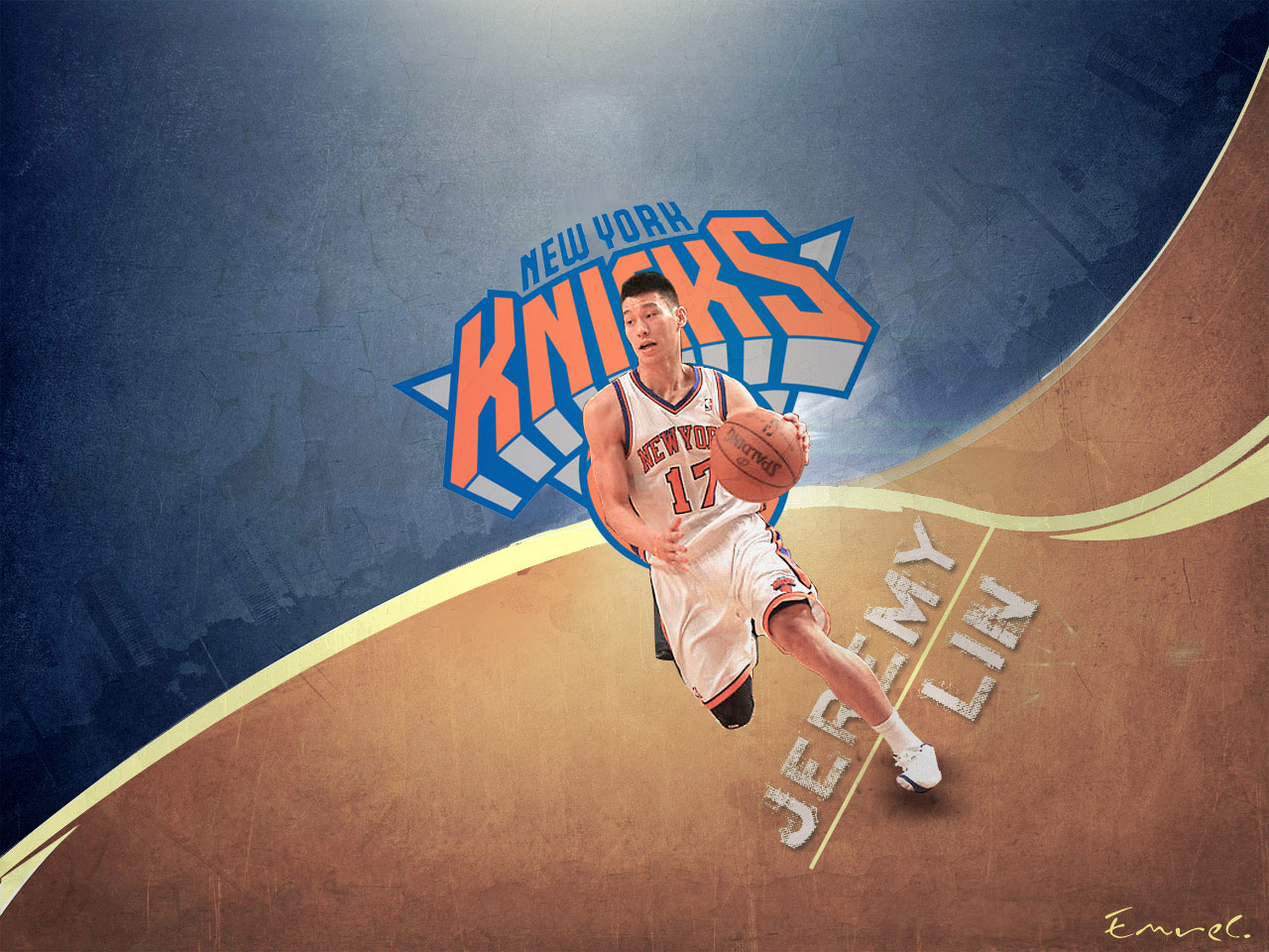 Jeremy Lin Knicks 1280x960 Wallpaper