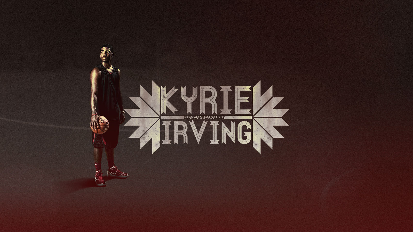 Kyrie Irving Cleveland Cavaliers 1600x900 Wallpaper