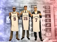 2011 NBA Draft New Jersey Nets Rookies Widescreen Wallpaper