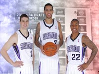 2011 NBA Draft Sacramento Kings Rookies Widescreen Wallpaper