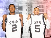 2011 NBA Draft San Antonio Spurs Rookies Widescreen Wallpaper