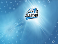 2012 NBA All-Star Logo Widescreen Wallpaper