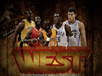 2012 NBA All-Star West Starters 2560x1600 Wallpaper