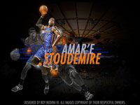Amare Stoudemire 1920x1200 Knicks Widescreen Wallpaper