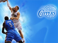 Blake Griffin Dunk Over Perkins 2012 Widescreen Wallpaper