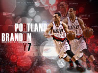 Brandon Roy 1920x1080 Blazers Wallpaper
