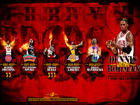 Dennis Rodman Career Widescreen Wallpaper