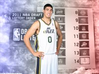 Enes Kanter Utah Jazz Jersey Widescreen Wallpaper