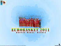 Eurobasket 2011 Bronze Medal Russia Wallpaper