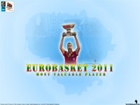 Eurobasket 2011 MVP Juan Carlos Navarro Wallpaper