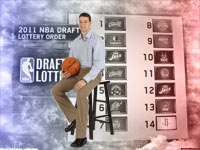 Jimmer Fredette 2011 NBA Draft Widescreen Wallpaper