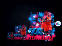 Jrue Holiday Philadelphia 76ers Widescreen Wallpaper