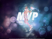 Kevin Durant 2012 NBA All-Star MVP 1920x1200 Wallpaper