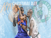 Knicks - Celtics 2011 Christmas Match 1920x1080 Wallpaper