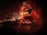 Kyrie Irving Cavs 2012 Widescreen Wallpaper