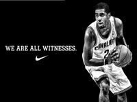 Kyrie Irving We Are All Witnesses Wallpaper