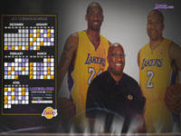 LA Lakers 2012 Schedule 1920x1200 Wallpaper