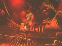 Magic Johnson Lakers 1680x1050 Wallpaper