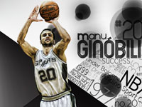Manu Ginobili 1680x1050 Wallpaper