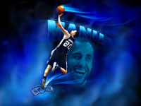 Manu Spurs 2012 Wallpaper