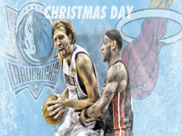 Mavs - Heat 2011 Christmas Match 1920x1080 Wallpaper