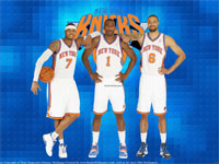 Melo Amare Chandler Knicks 2012 Wallpaper