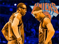 Melo And Amare Knicks Wallpaper