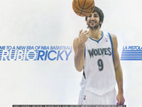 Ricky Rubio 2012 Widescreen Wallpaper
