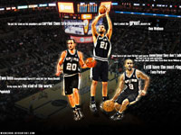 Spurs Big 3 Quotes Widescreen Wallpaper