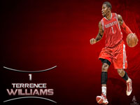 Terrence Williams Rockets 1920x1200 Widescreen Wallpaper