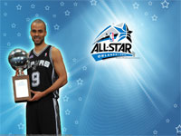 Tony Parker 2012 Skills Challenge Winner Wallpaper