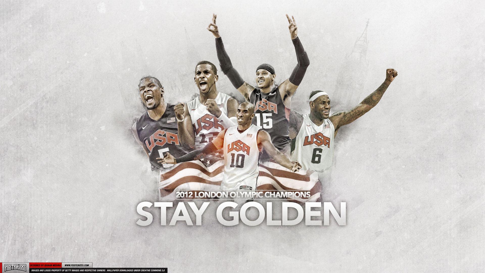 2012 Dream Team Olympics Gold 1920×1080 Wallpaper | Basketball ... Jabari Parker Lebron James