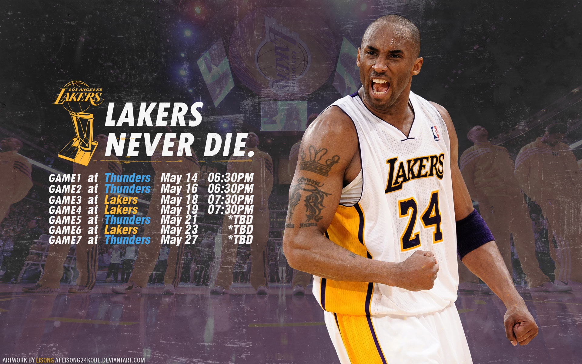 Los Angeles Lakers Wallpapers | Basketball Wallpapers at BasketWallpapers.com