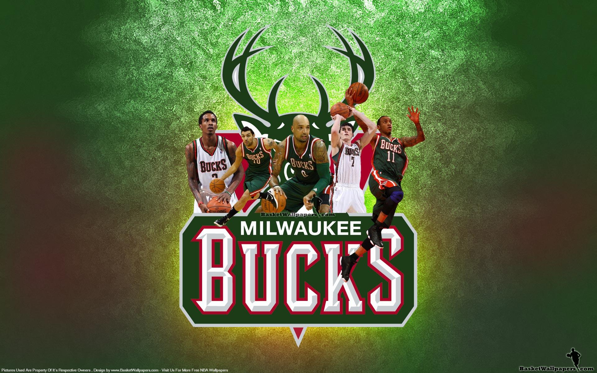 Milwaukee Bucks Starting 5 2012 Wallpaper