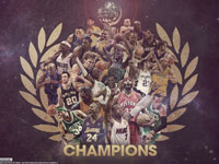 1999-2012 NBA Champions Mix 2560x1440 Wallpaper