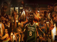 2012 NBA Playoffs Fight To Win Wallpaper