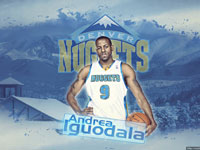 Andre Iguodala Nuggets 1920x1200 Wallpaper