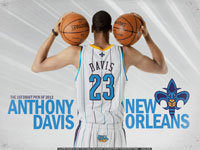 Anthony Davis Hornets 1920x1200 Wallpaper
