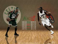 Celtics - Hawks 2012 NBA Playoffs 2560x1600 Wallpaper