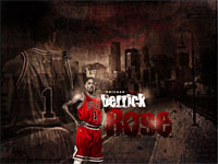 Derrick Rose Street 1280x960 Wallpaper