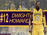 Dwight Howard LA Lakers 2560x1600 Wallpaper