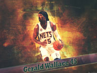 Gerald Wallace New Jersey Nets 1920x1200 Wallpaper