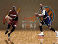 Heat - Knicks 2012 NBA Playoffs 2560x1600 Wallpaper Wallpaper