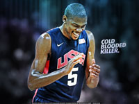 Kevin Durant 2012 vs Argentina 2560x1600 Wallpaper