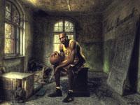 Kobe Bryant In Old Castle 1920x1200 wallpaper