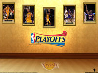 LA Lakers See You In Playoffs 2012 Wallpaper