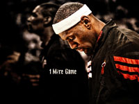 LeBron James 1 More Game 1920x1200 Wallpaper