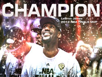 LeBron James 2012 NBA Finals MVP 1920x1200 Wallpaper