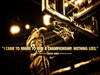 LeBron James Championship Quote 1920x1200 Wallpaper