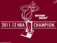 Miami Heat 2012 NBA Champions 1920x1200 Vector Wallpaper